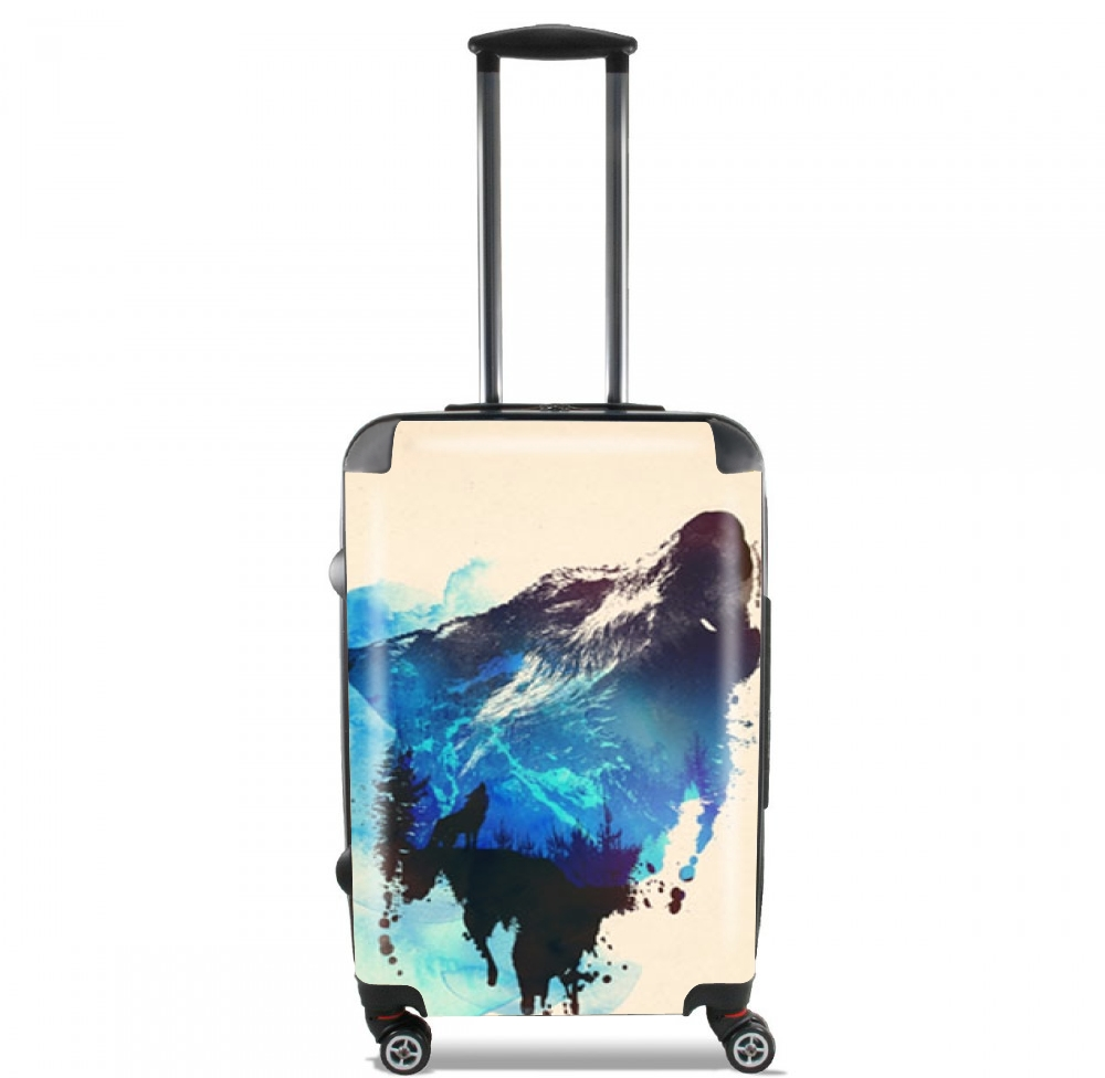 Alone as a wolf for Lightweight Hand Luggage Bag - Cabin Baggage