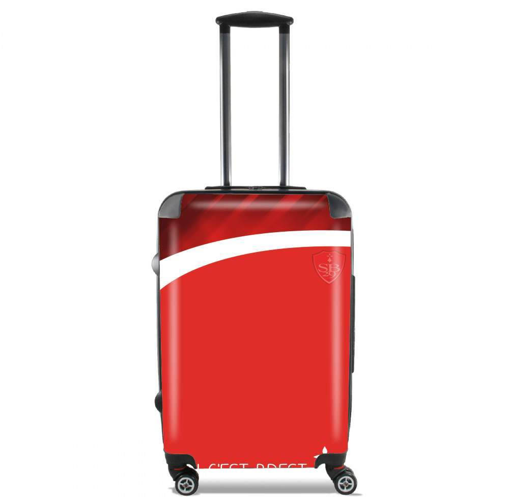 Stade Brestois for Lightweight Hand Luggage Bag - Cabin Baggage