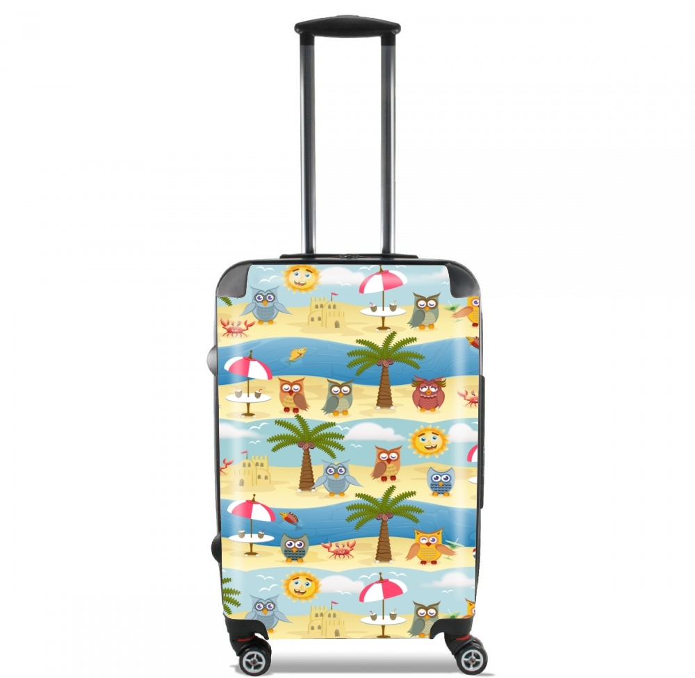 summer owls for Lightweight Hand Luggage Bag - Cabin Baggage