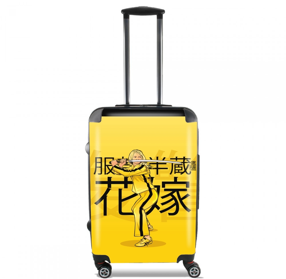 The Bride from Kill Bill for Lightweight Hand Luggage Bag - Cabin Baggage