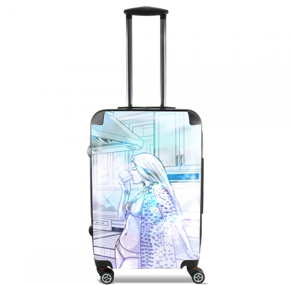 The girl coffee for Lightweight Hand Luggage Bag - Cabin Baggage