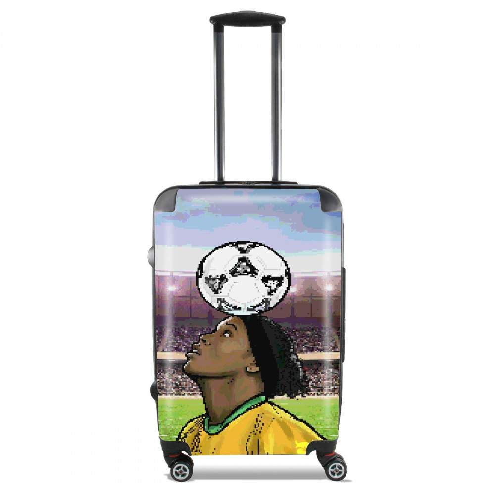 The Magic Carioca Brazil Pixel Art for Lightweight Hand Luggage Bag - Cabin Baggage