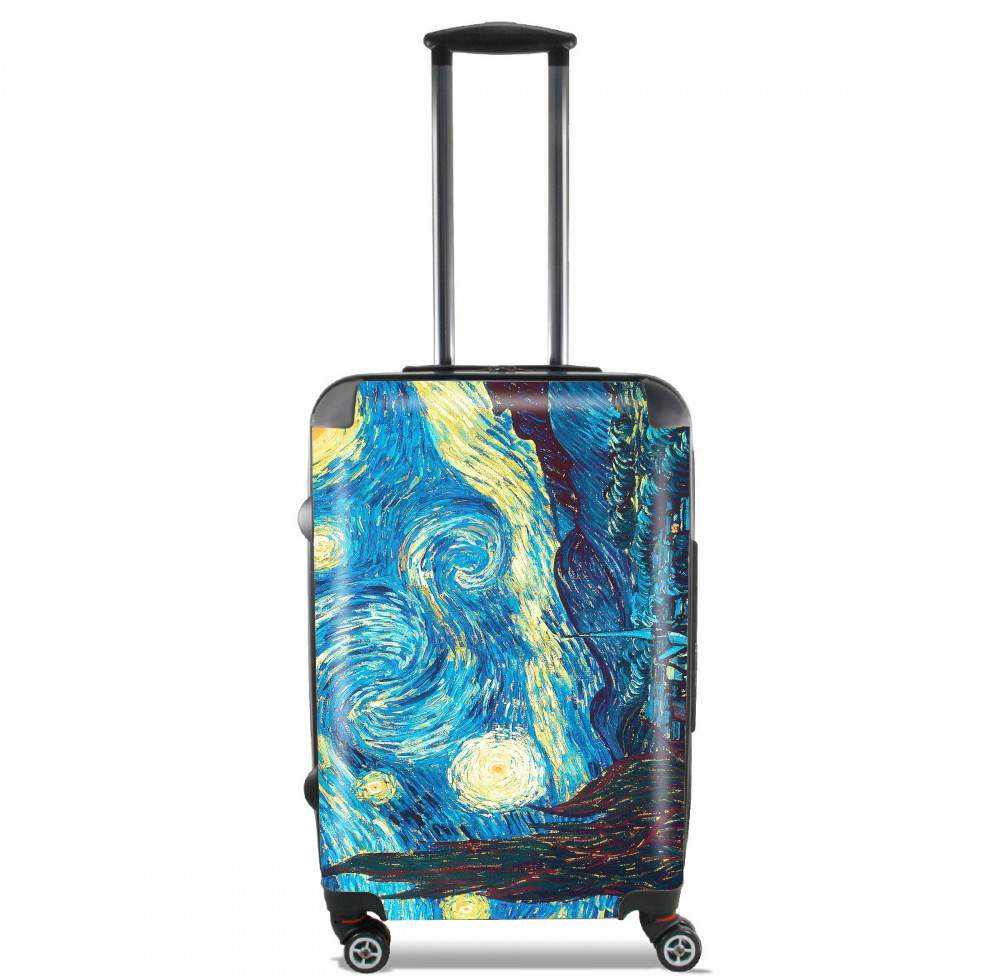 The Starry Night for Lightweight Hand Luggage Bag - Cabin Baggage