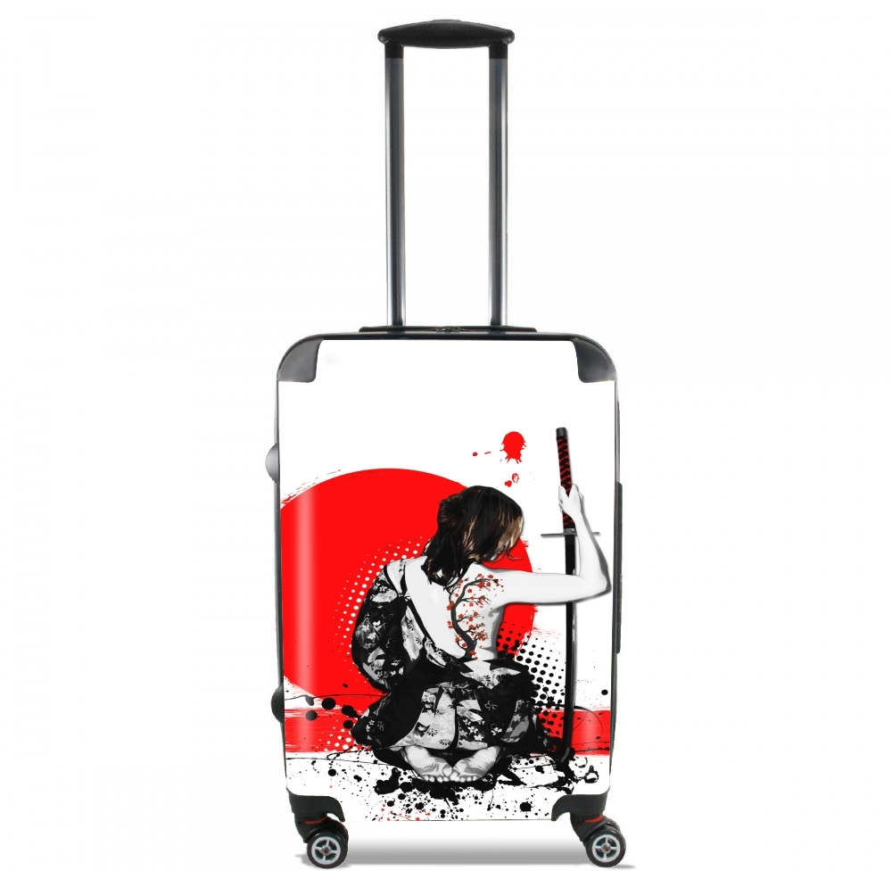 Trash Polka - Female Samurai for Lightweight Hand Luggage Bag - Cabin Baggage