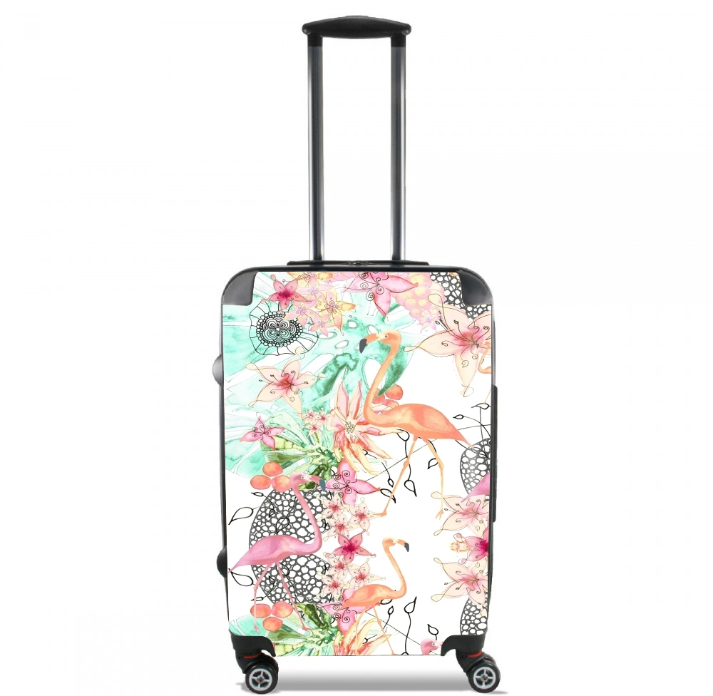 TROPICAL FFLAMINGO for Lightweight Hand Luggage Bag - Cabin Baggage