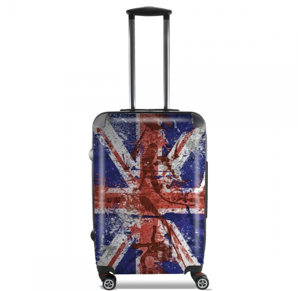 Union Jack Painting for Lightweight Hand Luggage Bag - Cabin Baggage