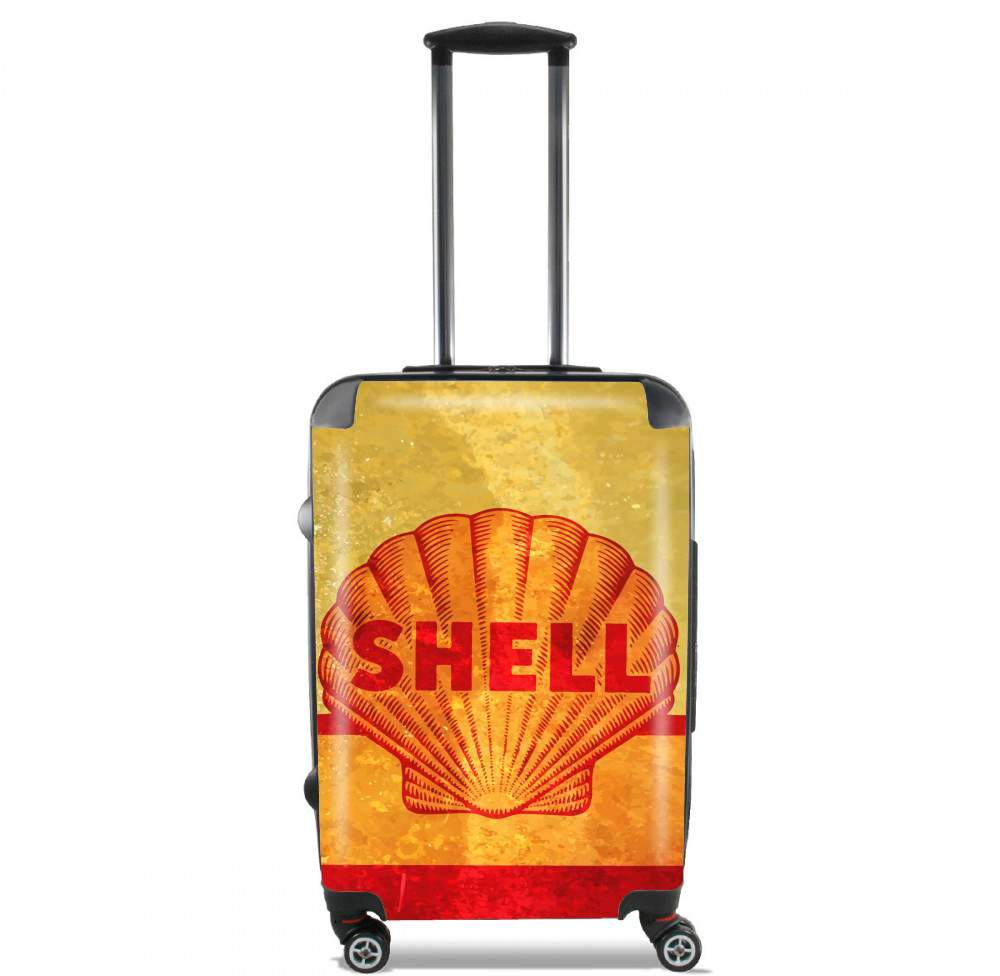 Vintage Gas Station Shell for Lightweight Hand Luggage Bag - Cabin Baggage