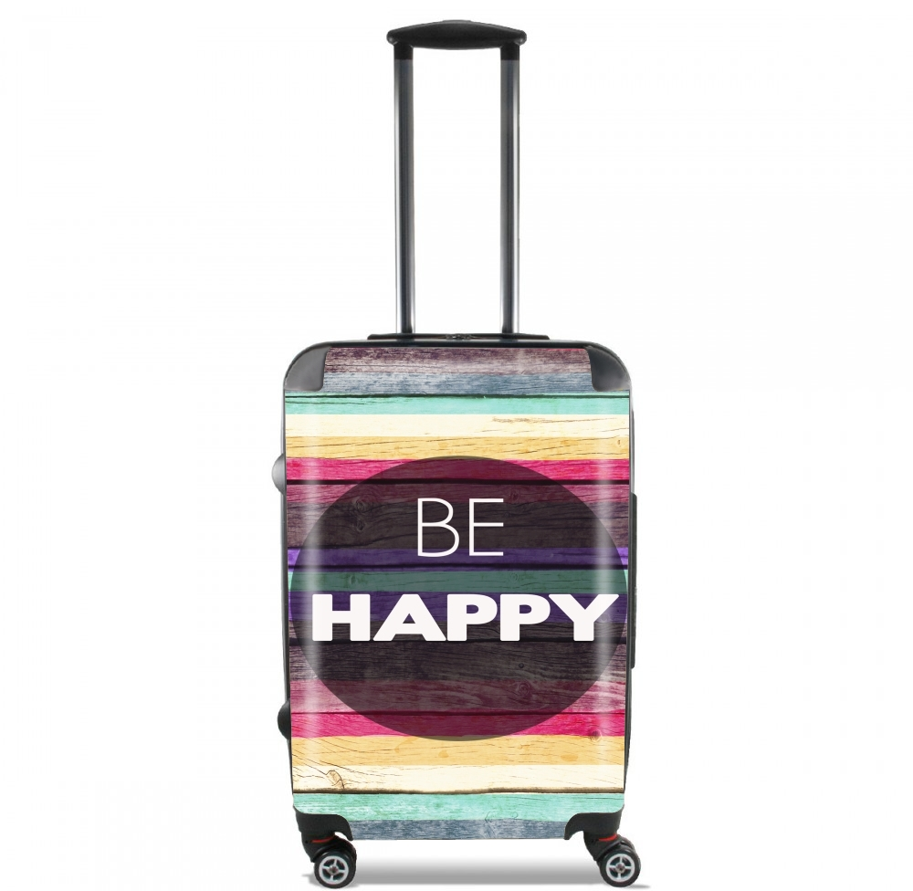 Be Happy for Lightweight Hand Luggage Bag - Cabin Baggage
