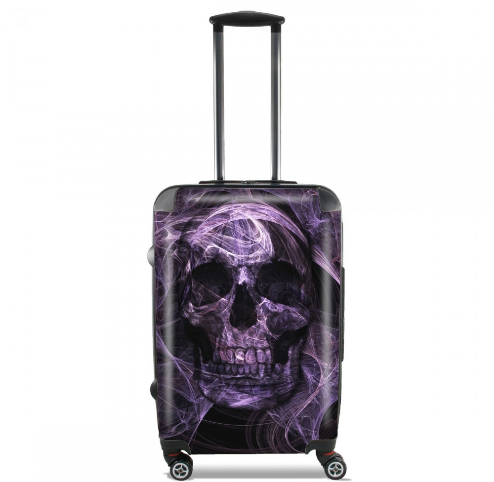 Violet Skull for Lightweight Hand Luggage Bag - Cabin Baggage