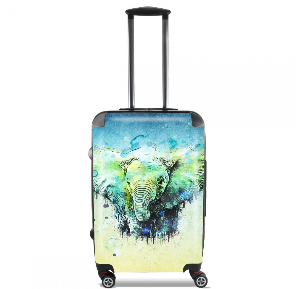 watercolor elephant for Lightweight Hand Luggage Bag - Cabin Baggage