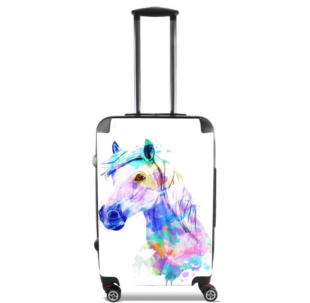 watercolor horse for Lightweight Hand Luggage Bag - Cabin Baggage
