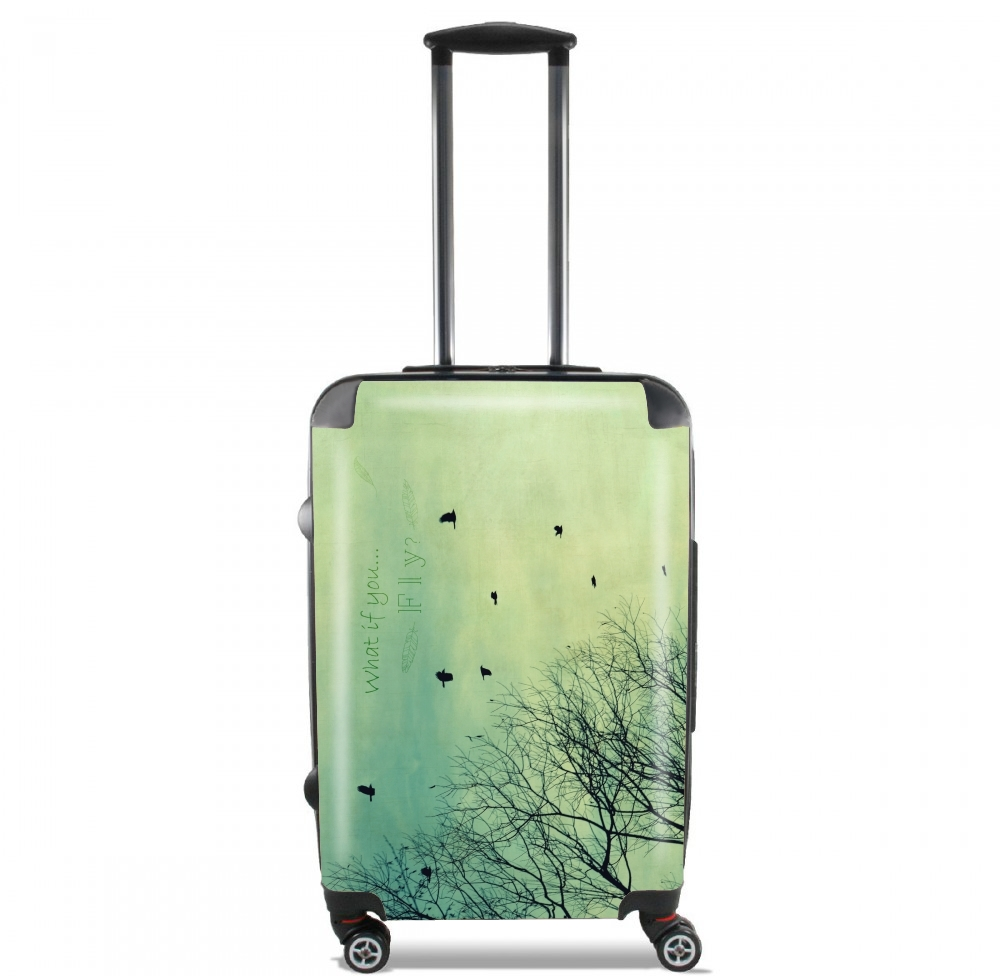 What if You Fly? for Lightweight Hand Luggage Bag - Cabin Baggage
