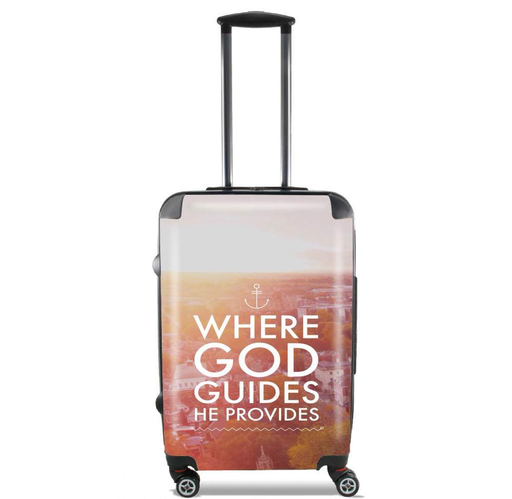 Where God guides he provides Bible for Lightweight Hand Luggage Bag - Cabin Baggage