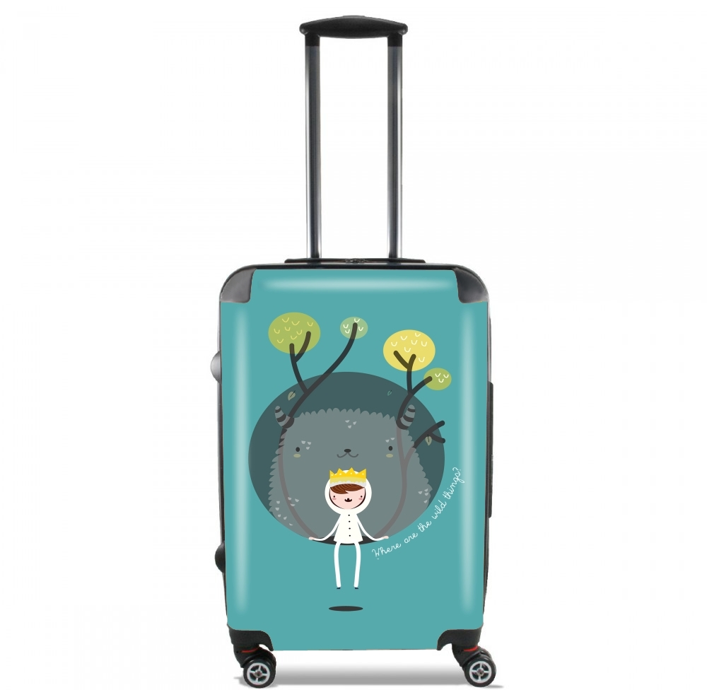 Where the wild things are for Lightweight Hand Luggage Bag - Cabin Baggage