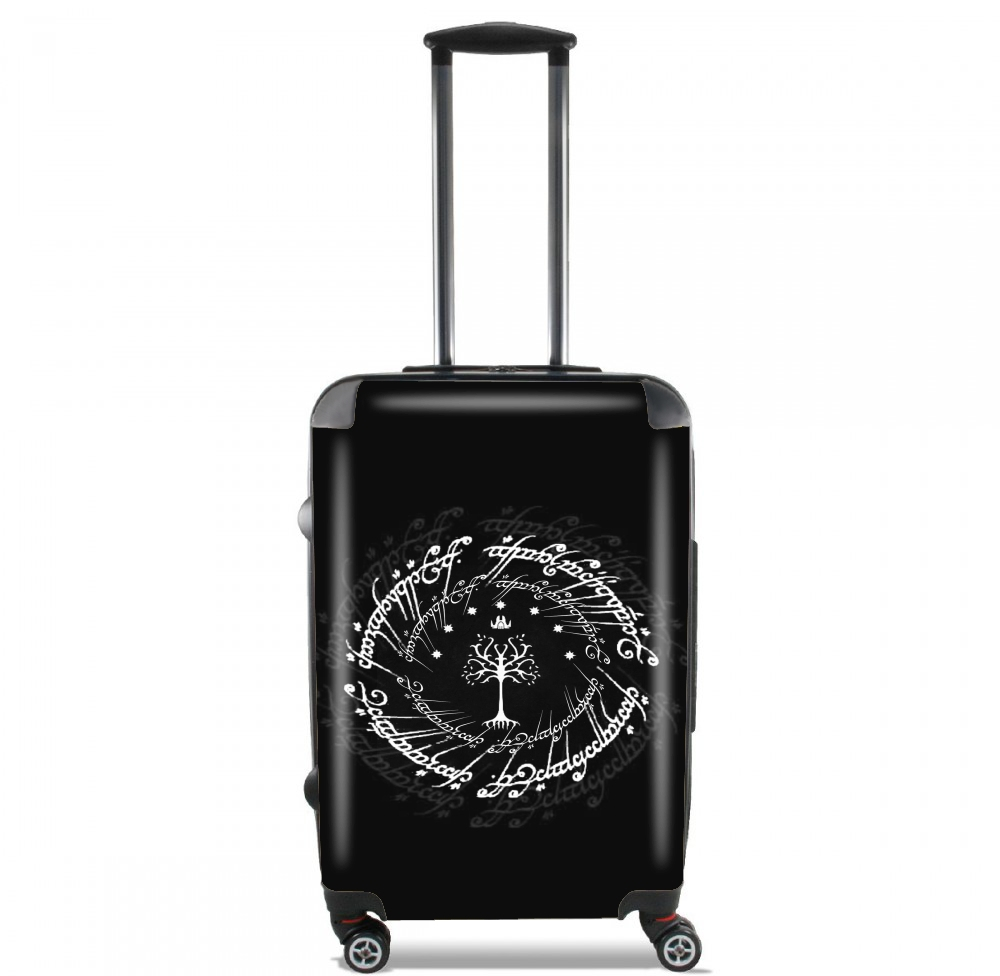 White tree of Gondor for Lightweight Hand Luggage Bag - Cabin Baggage