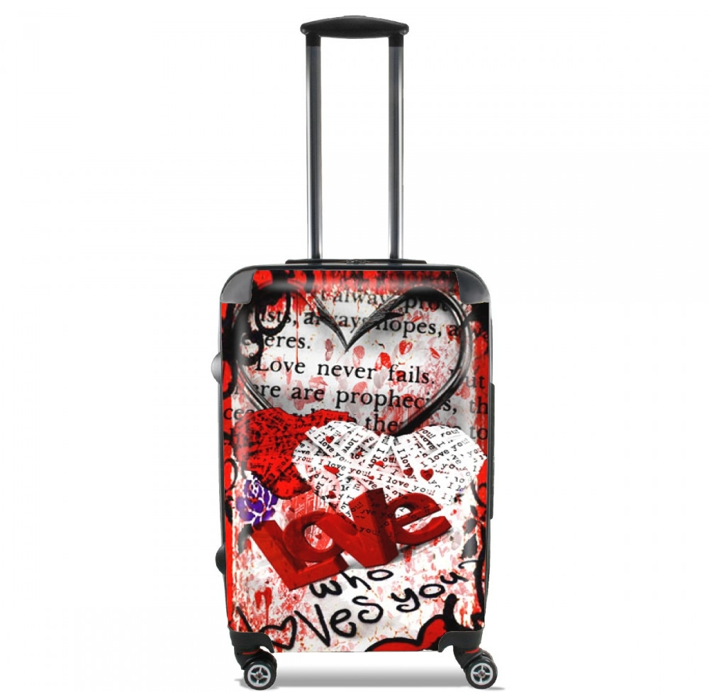 Who Loves You ? for Lightweight Hand Luggage Bag - Cabin Baggage