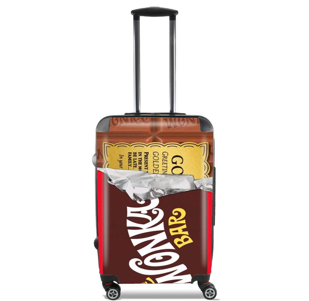 Willy Wonka Chocolate BAR for Lightweight Hand Luggage Bag - Cabin Baggage
