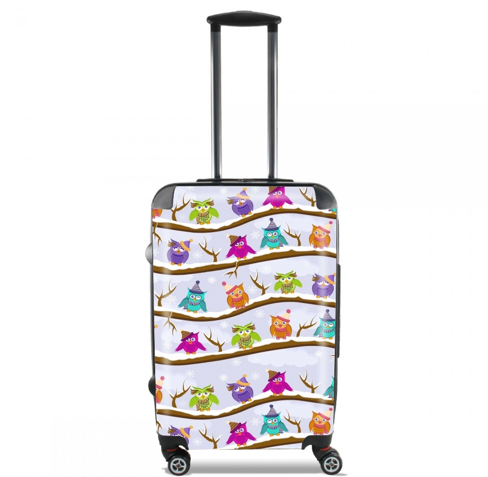 winter owls for Lightweight Hand Luggage Bag - Cabin Baggage