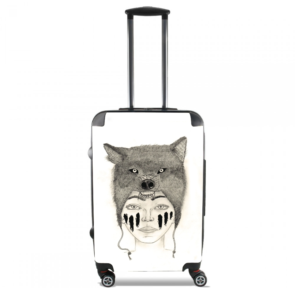 Wolf warrior for Lightweight Hand Luggage Bag - Cabin Baggage