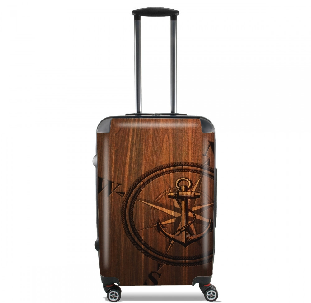 Wooden Anchor for Lightweight Hand Luggage Bag - Cabin Baggage