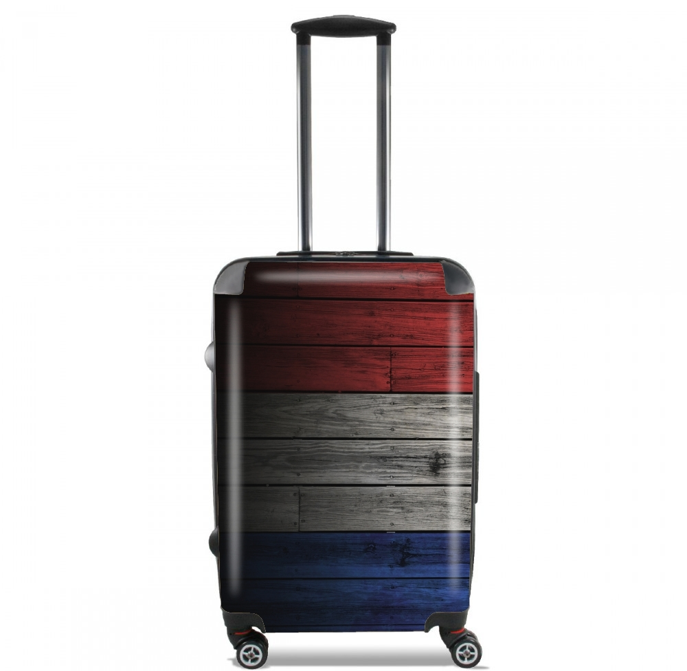 Lightweight Hand Luggage Bag - Cabin Baggage with Grunge Flag design
