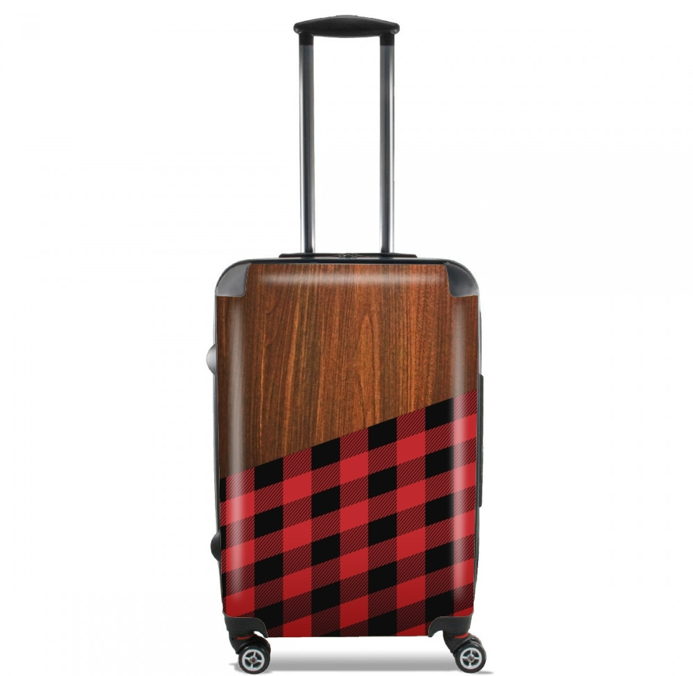 Wooden Lumberjack for Lightweight Hand Luggage Bag - Cabin Baggage