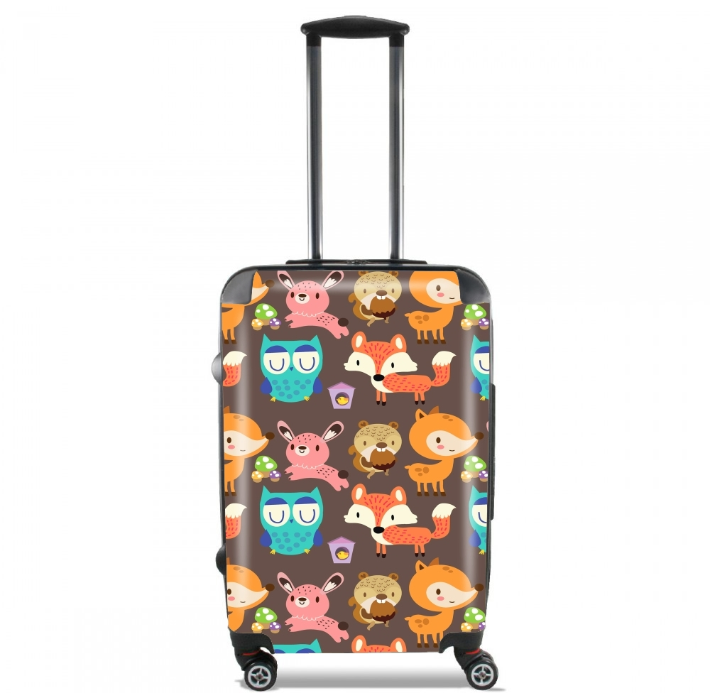Woodland friends for Lightweight Hand Luggage Bag - Cabin Baggage