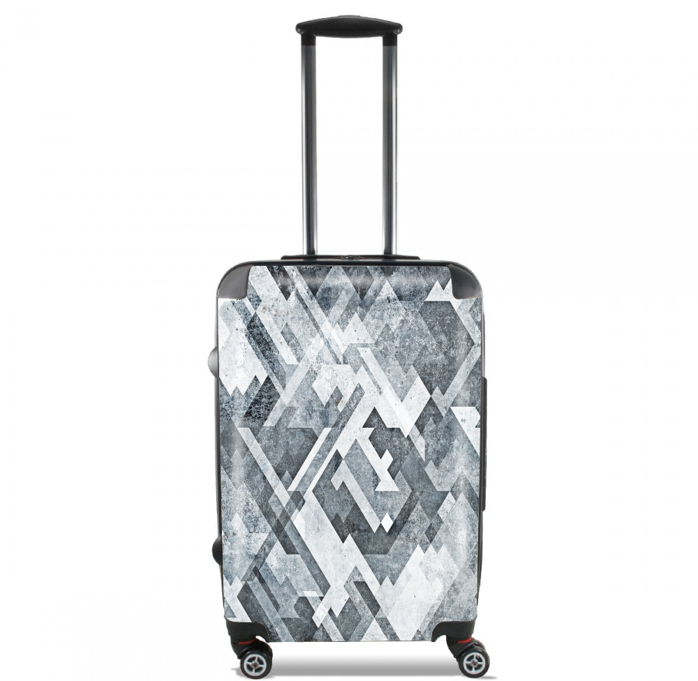zig,zag,black and white for Lightweight Hand Luggage Bag - Cabin Baggage